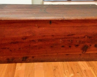 Antique Cedar Chest On Etsy A Global Handmade And Vintage
