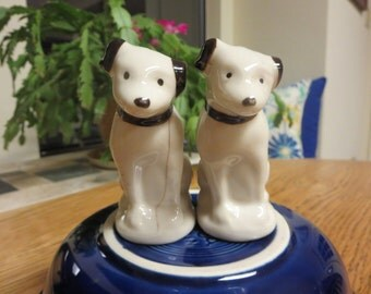 Vintage RCA Victor Dogs Salt and Pepper Shakers
