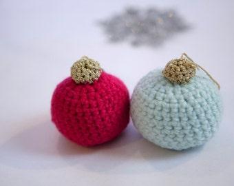 Crochet Ball Ornament