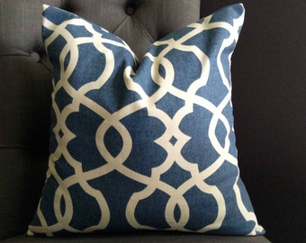 Pillow Cover, Light Blue Pillow Cover, SPA