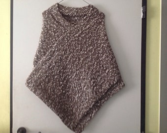 Beautiful knitted poncho