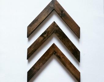 Arrows, 3 modern Arrows, Stained arrows