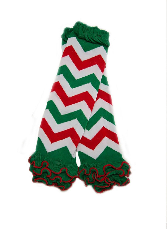 Chevron christmas leg warmers girls christmas by olivelovesapple