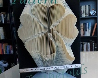 Clover Book folding pattern
