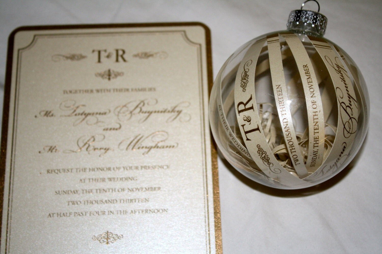 Wedding Ornament – Our First Christmas Ornament – Wedding Christmas ...