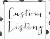 RESERVED for Teresa - Cruise Autograph Print - Custom 8x10 Print