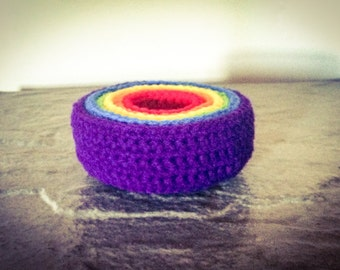 Nesting Bowls-- Crochet, Toy, MADE TO ORDER