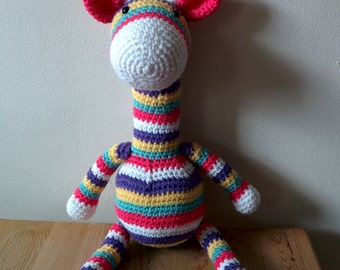 Colored giraffe (made to order)