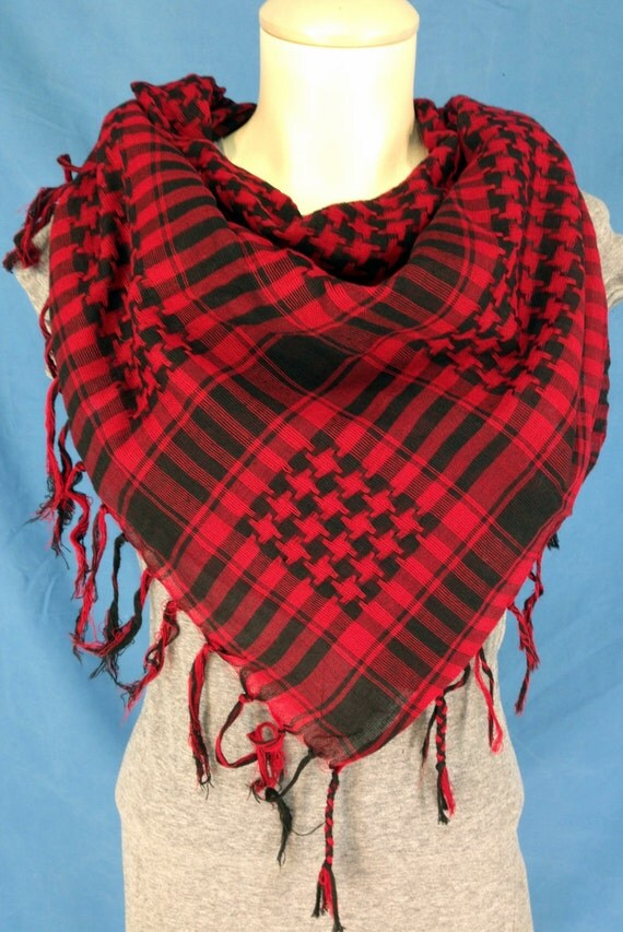 Red Scarves & Wraps for Women Make a statement with one of these striking red scarves. The red tone adds a pop of color to any look, helping you to stand out in the crowd.