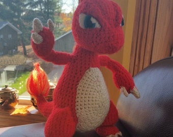 Crochet Charmeleon Pattern