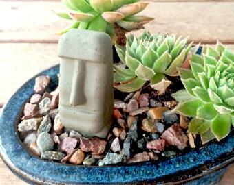 Concrete Easter Island Statue Figurine