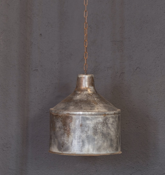 Items Similar To Galvanized Light Rustic Industrial Lighting Industrial Lig