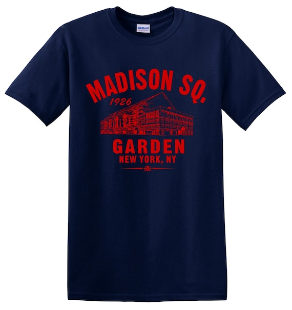 Madison Square Garden 1926 Hockey Tee Shirt Home Of By Tsteesusa