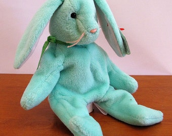 Green Rabbit Bunny Puppet by The Puppet Patch