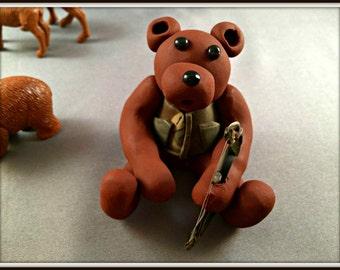 CUSTOMIZED Archery Camo Bear