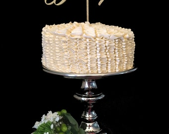Blessed With You Wedding Party Cake Topper