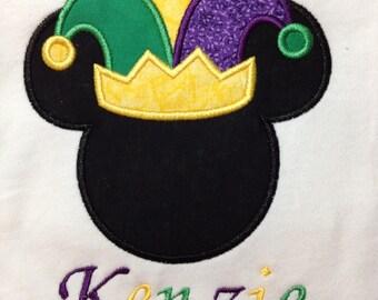 Mardi Gras Mickey Children's T-Shirt