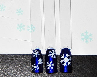 Snowflakes Decals Value Pack - Includes All 3 Sizes