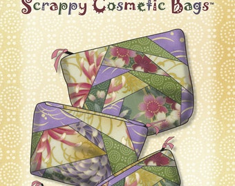 Easy to Make Vinyl Lined Cosmetic Bag Pattern PDF Instant Download
