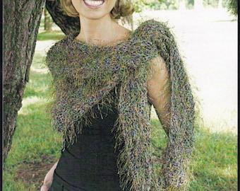 Shawl and Scarf Knitting Patterns - Knitted Shawl Patterns - Hand Knit Scarf Shawl Pattern - Plymouth Yarn Design Studio Scarf Shawl Pattern