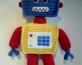 Crochet Robot - Soft toy Robot - Children's gift - Robot gift - Handmade Robot toy