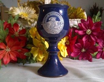 REDUCED:* Colorado Renaissance Festival Goblet 1986..10th Anniversary. Colorado Goblet. Colorado Collectibles. Renaissance Memorabillia.