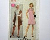 1960s A Line Dress Pattern, Dress Pattern, Butterick Pattern, Butterick 5308, Size 12 1/2, Bust 35, Classic 1960, Vintage Butterick, Sewing