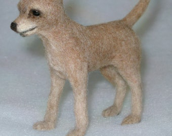 Realistic Needle Felted Chihuahua, *Free Shipping & Mini Toy
