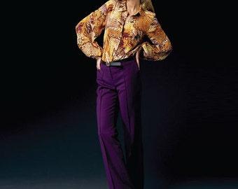 Anne Klein designer Vogue pattern V1366 Misses' top and pants - new and uncut