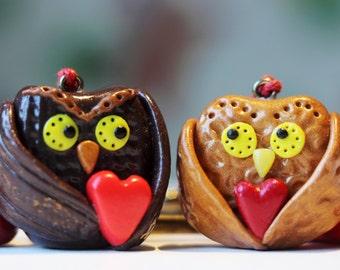 """Key rings """"Owl lovers"""""""