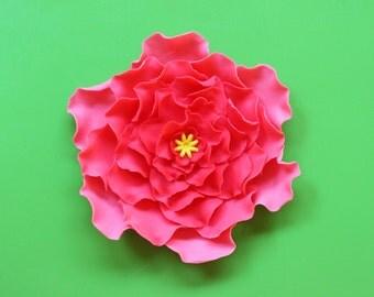Edible Fondant Flowers 12pcs 2 5 Luau Cupcake By