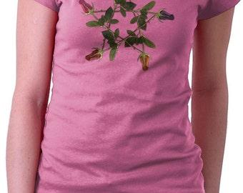 Wicca Witch Pagan Magic Rose Pentagram T Shirt Mens Womens