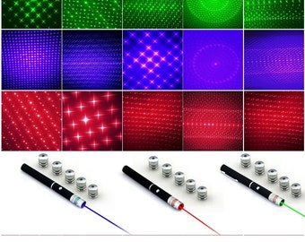 Laser - These LED Lasers pointers create different mesmerizing star effects. Perfect for parties, rave, festivals, camping & more!