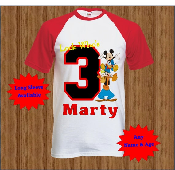 Find great deals on eBay for mickey mouse birthday shirt. Shop with confidence. Skip to main content. eBay: Shop by category. out of 5 stars - Custom Mickey Mouse Birthday Shirt - Mickey Mouse Boy's Shirt (1) [object Object] $ or Best Offer +$ shipping.