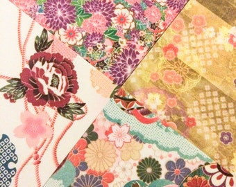 36 Sheets Pretty Japanese Origami Paper