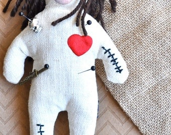 Personalized Voodoo Doll for REVENGE! Custom from Your Photo. Voodoo Take That™
