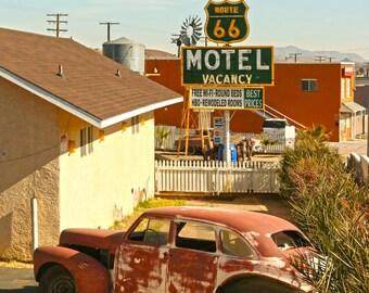 Motel 66 - Barstow, CA  2014