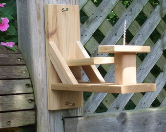 Squirrel feeder,Functional,Handmade,Outdoors,Whole Corn on the cob feeder