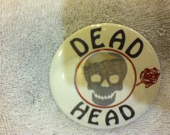 1970'S Grateful Dead pin back button