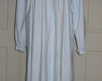 Custom Ladies Flannel Nightgown