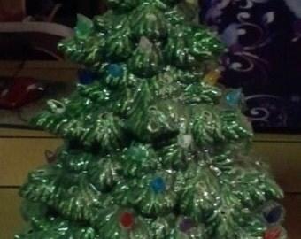 Ceramic Douglas Fir Christmas Tree