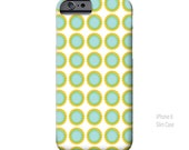 Whimsical, Retro, polka dot, iPhone 6 Case, iPhone 5 Case, funky, abstract, Art, iPhone cases, iPhone 5S case, iPhone 6 Plus, Galaxy S6 Case