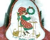 SALE | Vintage Holly Hobbie Christmas Potholder