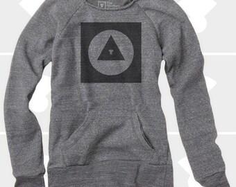 Explorer Icon - Women's Slouchy Sweatshirt