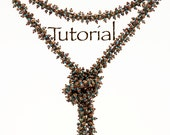 Bead Weaving Tutorial That Textured Rope with Seed Beads and Pearls Digital Download