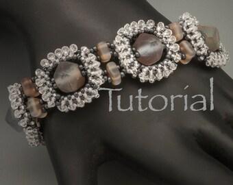 Seed Bead Woven Bracelet Tutorial Denim Diva Digital Download
