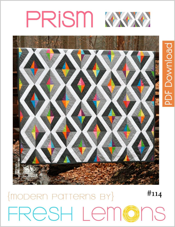 Modern Quilt Pattern Prism Pdf