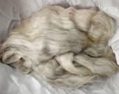Blank Pages - Wool Batt, TWEED LITE  - sw merino/tencel/hemp/wool