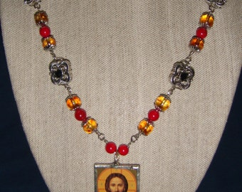 Christ the Teacher Necklace inv1065