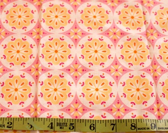 SALE unused cotton fabric floral fat quarter Sweet Broderie by Rosalie Quinlan for Lecien
